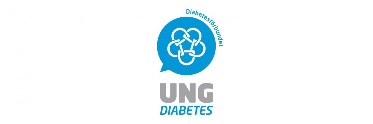 Ung Diabetes logotyp.